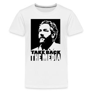 Breitbart - take back the media - black