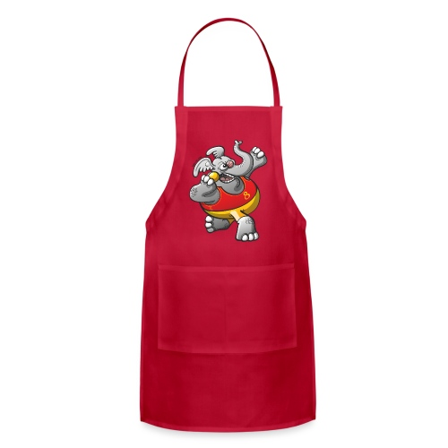Olympic Shot Put Elephant - Adjustable Apron