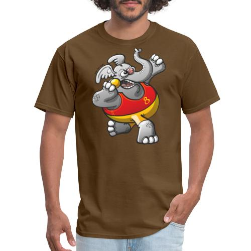 Olympic Shot Put Elephant - Men's T-Shirt