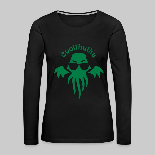 WTHw1c: Coolthulhu - Women's Premium Long Sleeve T-Shirt