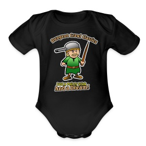 Pointy Stick and a Dream! - Short Sleeve Baby Bodysuit