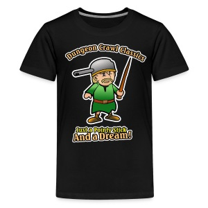 Pointy Stick and a Dream! - Kids' Premium T-Shirt