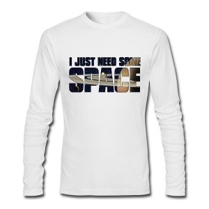 Space shirt - Men's Long Sleeve T-Shirt by Next Level