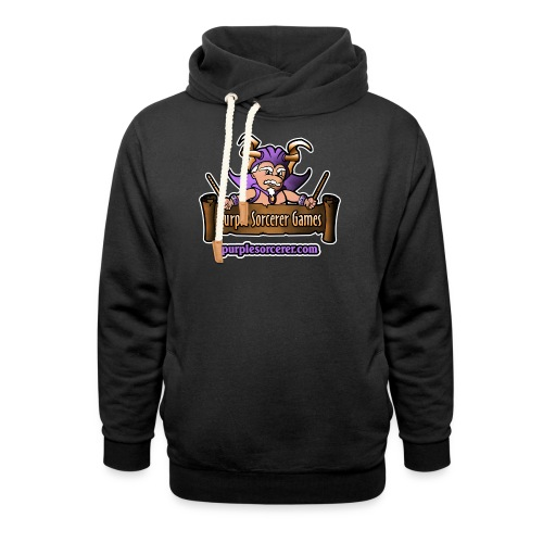 Purple Sorcerer Logo - Shawl Collar Hoodie