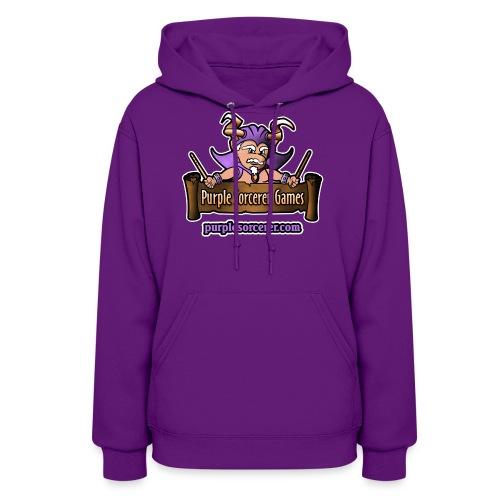 Purple Sorcerer Logo - Women's Hoodie