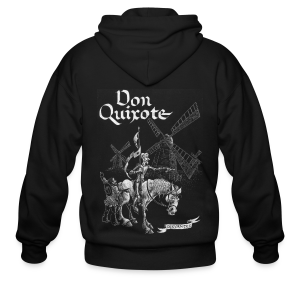 Don Quixote t-shirt - Men's Zip Hoodie