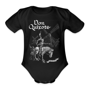 Don Quixote t-shirt - Short Sleeve Baby Bodysuit