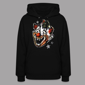 Retro Clown Mask Women's T Shirt - Women's Hoodie