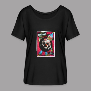 Clown Costume Women's Halloween T Shirt - Women's Flowy T-Shirt