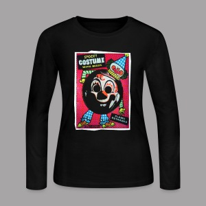 Clown Costume Women's Halloween T Shirt - Women's Long Sleeve Jersey T-Shirt