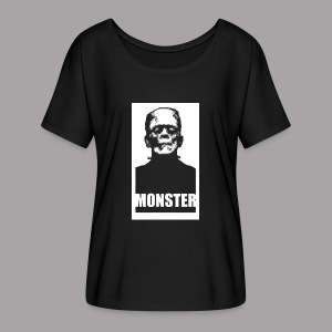 The Monster Halloween Horror Women's T Shirt - Women's Flowy T-Shirt