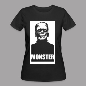 The Monster Halloween Horror Women's T Shirt - Women's 50/50 T-Shirt