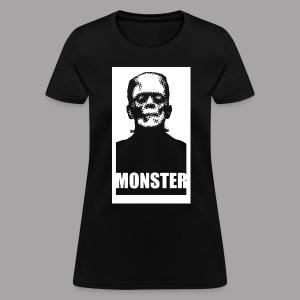 The Monster Halloween Horror Women's T Shirt - Women's T-Shirt
