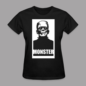 The Monster Halloween Horror Women's T Shirt - Women's T-Shirt