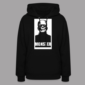 The Monster Halloween Horror Women's T Shirt - Women's Hoodie