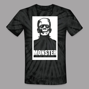The Monster Halloween Horror Women's T Shirt - Unisex Tie Dye T-Shirt