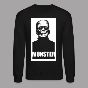 The Monster Halloween Horror Women's T Shirt - Crewneck Sweatshirt