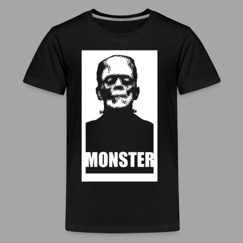 The Monster Halloween Horror Women's T Shirt - Kids' Premium T-Shirt