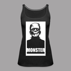 The Monster Halloween Horror Women's T Shirt - Women's Premium Tank Top