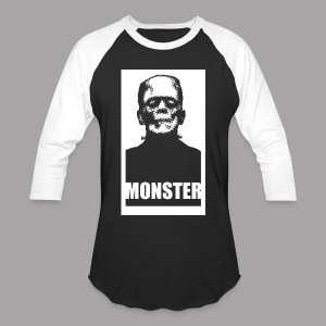 The Monster Halloween Horror Women's T Shirt - Baseball T-Shirt