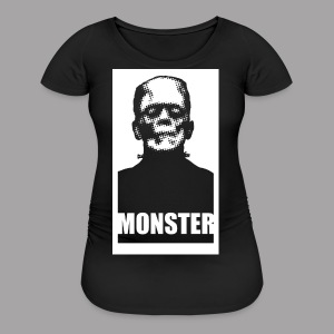The Monster Halloween Horror Women's T Shirt - Women's Maternity T-Shirt