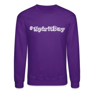 #SpiritDay - Men's T-shirt - Crewneck Sweatshirt