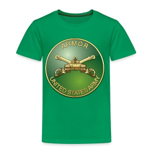 Armor Branch Plaque - Toddler Premium T-Shirt