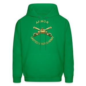 Armor Branch Insignia - Men's Hoodie