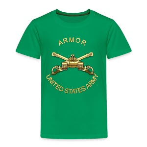 Armor Branch Insignia - Toddler Premium T-Shirt