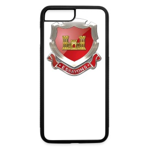 USACE Regimental Insignia - iPhone 7 Plus/8 Plus Rubber Case