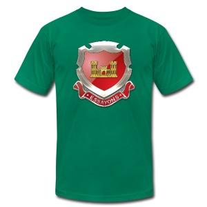 USACE Regimental Insignia - Men's Fine Jersey T-Shirt
