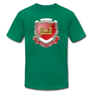 USACE Regimental Insignia - Men's T-Shirt by American Apparel