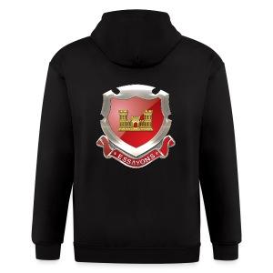 USACE Regimental Insignia - Men's Zip Hoodie