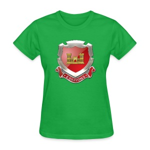 USACE Regimental Insignia - Women's T-Shirt