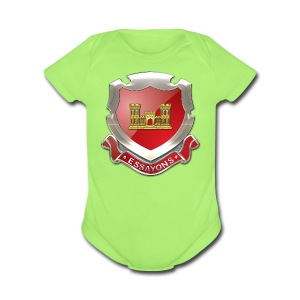USACE Regimental Insignia - Short Sleeve Baby Bodysuit