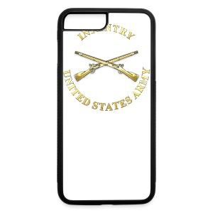 Infantry Branch Insignia - iPhone 7 Plus/8 Plus Rubber Case