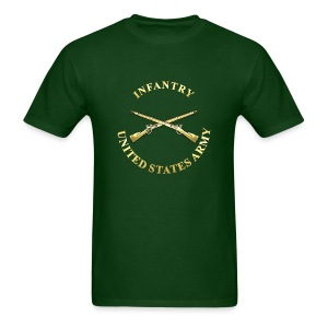 Infantry Branch Insignia - Men's T-Shirt