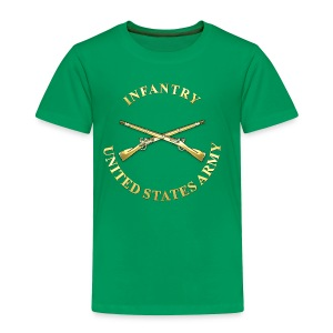 Infantry Branch Insignia - Toddler Premium T-Shirt
