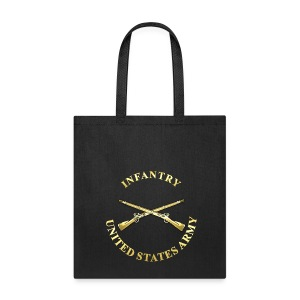 Infantry Branch Insignia - Tote Bag