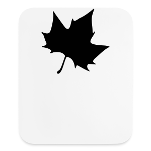 Plane leaf t-shirt - Mouse pad Vertical