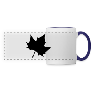 Plane leaf t-shirt - Panoramic Mug