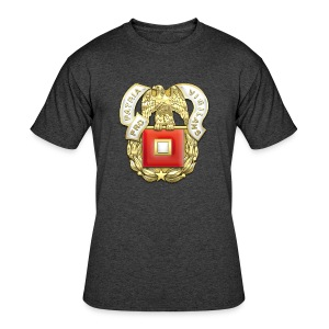 Signal Corps Regimental Insignia - Men's 50/50 T-Shirt
