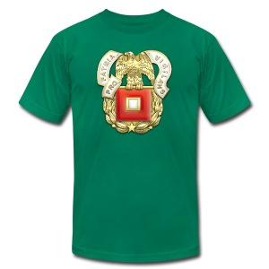 Signal Corps Regimental Insignia - Men's Fine Jersey T-Shirt