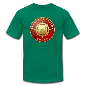 Transportation Corps Branch Plaque - Men's T-Shirt by American Apparel