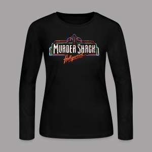 Murder Shack Hollywood Women's T Shirt - Women's Long Sleeve Jersey T-Shirt