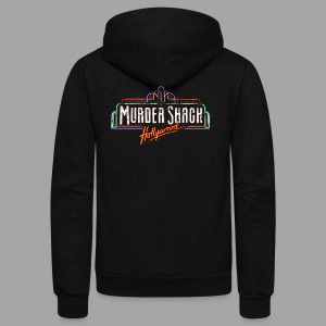 Murder Shack Hollywood Women's T Shirt - Unisex Fleece Zip Hoodie by American Apparel