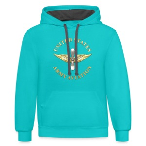 Aviation Branch Insignia - Contrast Hoodie