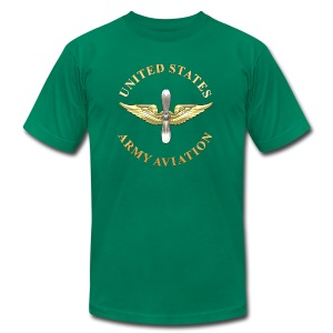 Aviation Branch Insignia - Men's T-Shirt by American Apparel