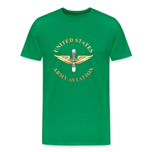 Aviation Branch Insignia - Men's Premium T-Shirt