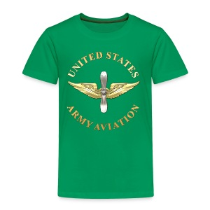 Aviation Branch Insignia - Toddler Premium T-Shirt